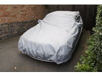 Car cover fits my BMW size large