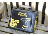 Stanley Fatmax 18v 2.0Ah cordless hammer drill - REDUCED TO £70