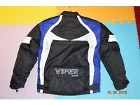 Kids motorbike Jacket VIPER RIDER . Size : 6-7 years.