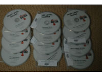 Full set (12) of Next Level Guitar Tuition DVDs