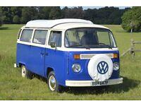 VW 1976 Type 2 Bay Window Campervan for Sale