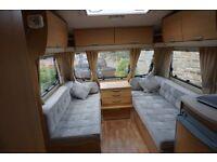 Abbey Aventura 318 2006 fixed bed four berth tourer