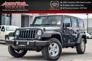 2016 Jeep WRANGLER UNLIMITED NEW Car|Sport 4x4|Dual Tops/Connect