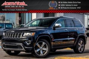 2016 Jeep Grand Cherokee Limited|4X4|Sunroof|Backup_Cam|Leather|