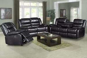 Madness SALE!!! IS ON Now  BRAND NEW LEATHER 5 RECLINERS SOFA,LOVE-SEAT & CHAIR