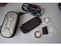 SONY PSP WITH 4 GAMES