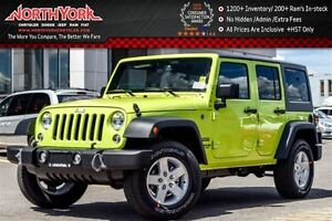 2016 Jeep WRANGLER UNLIMITED NEW Car Sport 4x4|Manual|AirConditi