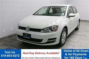 2016 Volkswagen Golf 1.8TSI TRENDLINE w/ REVERSE CAMERA! HEATED