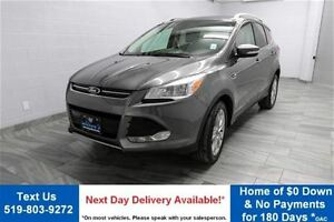 2014 Ford Escape TITANIUM 2.0L ECOBOOST! NAVIGATION! LEATHER! RE