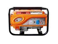 Generator KRAFTWELE KW4500 1 Phase petrol 4,5 KW