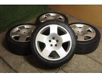 "Genuine Audi TT Competition 17"" Alloy wheels 5x100 Comps A3 VW Golf MK4 Polo Bora Beetle Alloys"