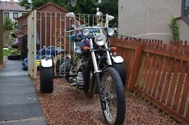 FOR SALE YAMAHA TRIKE XS 750 PROJECT AS REQUIRE GARDEN SPACE NOW.- BARGAIN LOST INTEREST