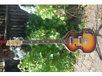 KINGSTON MID 60S VIOLIN BEATLES BASS GUITAR