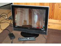 "UMC 19"" Widescreen 12v/240v, Ideal camper/caravan. DVB-T/HDMI, Built in DVD"