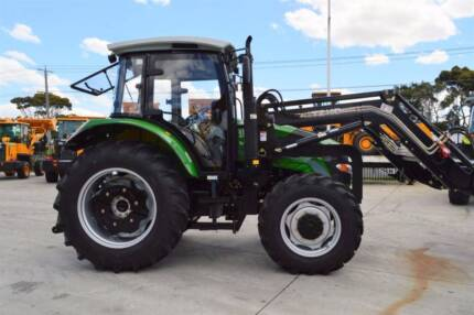 CDF 80HP Cabin Tractor INC 6ft Slasher and 5 Years Parts Warranty