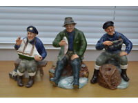 Daulton Seafarers Figurines set of 13 in mint condition