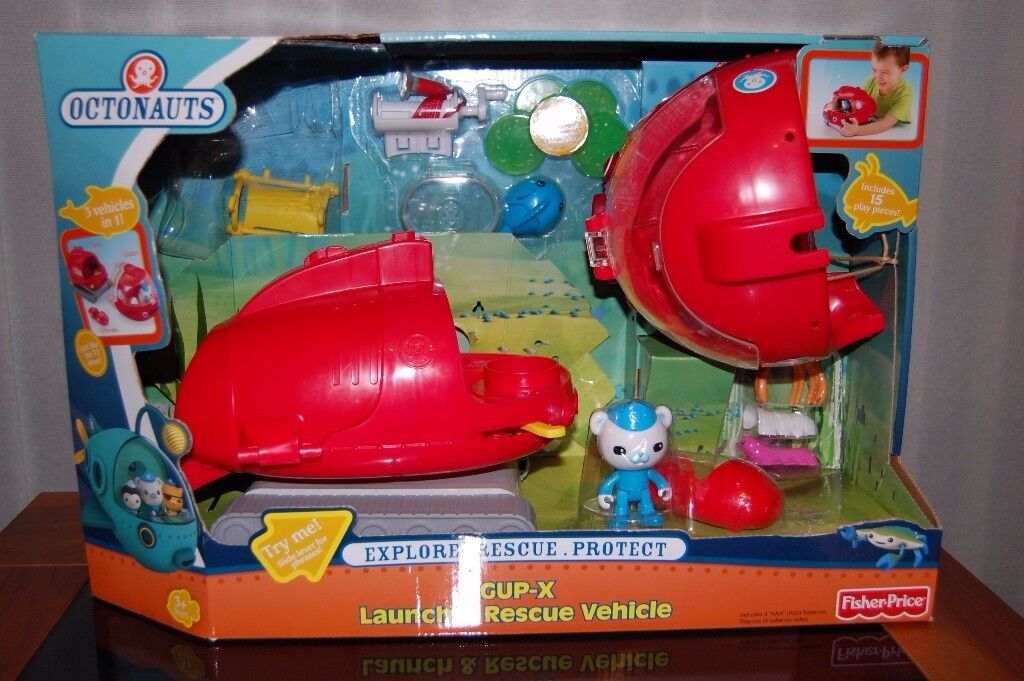Octonauts Gup X used but like new sealed in box