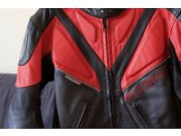 Richa Small Armoured Leather Motorcycle Jacket