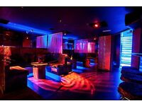F/T Bar Back position available in Soho Club