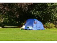 Tent plus Camping Equipment