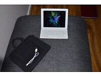 SOLD::: Excellent condition iPad 2 16 gb & Logitech keyboard.