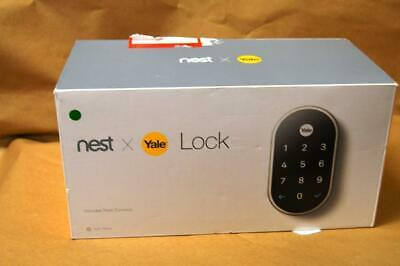 Nest x Yale - Smart Lock with Nest Connect Satin Nickel RB-Y