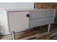 SIDEBOARD ,DRAWERS , SHABBY CHIC, VINTAGE,RETRO,solid wood (free delivery)