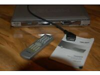 Bush DVD2035 Disc Player with Remote Control, Scart Cable and Instructions - Immaculate Condition