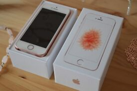 IPHONE 5SE 32GB ROSE GOLD ***UNLOCKED ON ALL NETWORKS***