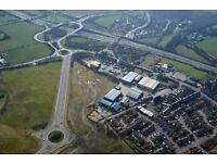 Office To Let (1000 sq. ft.) - 400m from J36, M1 Motorway.