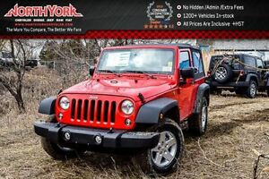 2017 Jeep Wrangler New Car Sport S|4x4|Manual|PwrCnvncePKG|PwrLo
