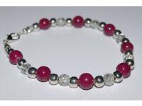 Handmade beaded bracelets choose from a selection £3.50 each