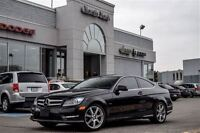 2012 Mercedes-Benz C350 Coupe Leather Nav Pano Sunroof H/K Audio