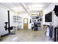 Studio Share in Hackney Wick - Share of 300sq ft. Available now. £250pcm