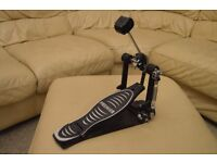Premier chain driven bass drum pedal (like new)