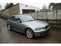 2004 bmw 316 ti es compact mot 6th may 2018 low insurance