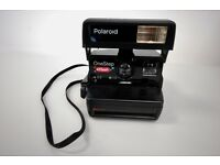 Polaroid 600 One Step Flash Instant Camera | VINTAGE| Collection Only