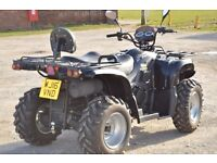2016 500cc 4x4 JAGUAR ROAD LEGAL FARM QUAD BIKE 16 PLATE FITTED WITH WINCH AND TOW BAR AUTOMATIC
