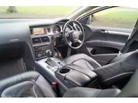 "Audi Q7 3.0TDI V6 Quattro 232bph 2007 SatNav Bose Full Leather 7-Seats 20"" Wheels"