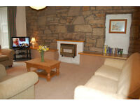 By the Sea, Video. Portobello, beautiful 2 bed flat with views to sea and hills