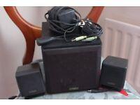 Cambridge Creative Labs. Cambridge Soundworks SW320 Speaker System. Great sounding. Working order.