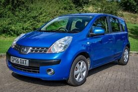 NISSAN NOTE - 1.6L PETROL - AUTOMATIC - SH - 2 OWNERS - MOT - FREE 6 MONTHS WARRANTY