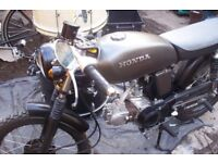 Honda SS 50, full rebuilt, mint condition, 1976, unrestricted