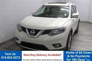 2014 Nissan Rogue SL! AWD! w/ LEATHER! NAVIGATION! HEATED SEATS!