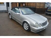 2001 MERCEDES CLK 230 AVANTGARDE KOMP MOT UNTIL NOVEMBER 2018