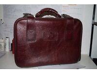 vintage hand luggage
