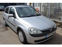 Vauxhall CORSA CLUB 2002 drives amazing with MOT Until January 2017 with Low mileage
