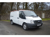 Very Rare Ford Transit 2010 MWB, 115BHP 6 Speed – Ex Council Owned, Very Low Miles,