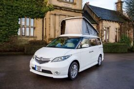 Honda Elysion 2.4 or 3.0V6 choice of 2 or 4WD Auto, new conversion, heating & solar panel