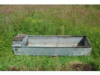 Large Cattle /Horse Water Trough - Galvanised Steel – Garden Planter